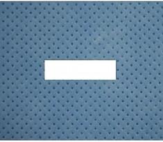 멸균소공포 (MB-1500) 50x50cm, hole 2x10cm (직사각형) [TAPE 부착]  [100]